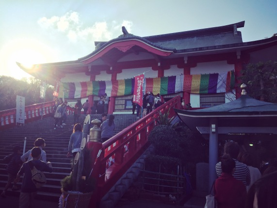 New Years, Narita-san temple, Nakagusuku